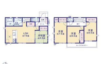 名古屋市守山区喜多山南19-1期 全4棟 2号棟 新築戸建 リナージュ 4LDK