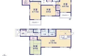 あま市第1新居屋鶴田 全5棟 3号棟 新築戸建 ファーストタウン 4LDK