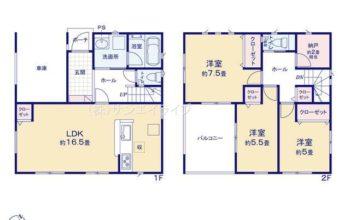 名古屋市南区本地通 第1 全2棟 1号棟 新築戸建 クレイドルガーデン 3LDK